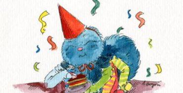 Pajączek świętuje :)